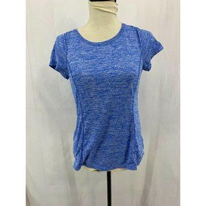 AVIA Heather Blue Short Sleeve Activewear Tee
